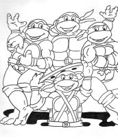 Teenage Mutant Hero Turtles by Sonic-Spider