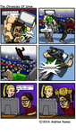 Elbow drops and comic plots by El-Tor0