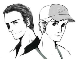 L4D2 Nick and Ellis by SuppieChan