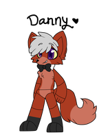 Danny the Wolf by BittyKitKat