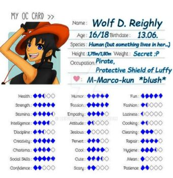 Reighly's Oc Card by Reighly