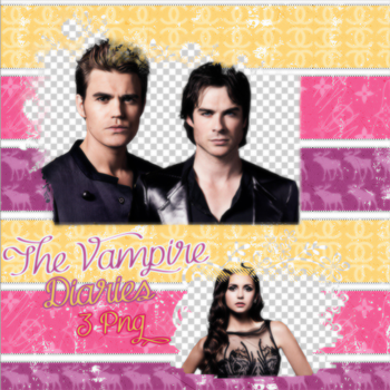 TVD PNG Pack by tobe-normal