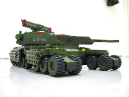 "Lego Sheppard Tank ""Mix"" 2 by SOS101"