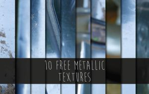 10 free metallic textures by WingsOfKaviel