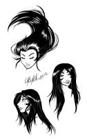 Dark Venus Doodles by kathy-lu