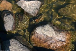 Water On Rock by HeWhoWalksWithTigers