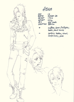 ADAM charactersheet by paranoidiomatic