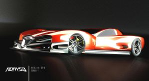 V10 Merlinni GT-S Concept   -   Front by Adry53