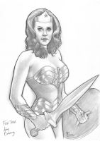 Linda Carter Wonder Woman by huy-truong