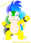 LARRY KOOPA DRAWING by HOBYMIITHETACTICIAN