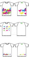 Ideas for T-shirts for Prague Hippodrome by alisavolkova28