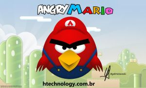 Angry Mario by Gabrielx86