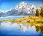Landscape Painting by Inonibird