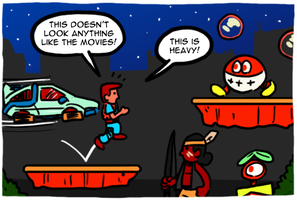 Nintendo's Back to the Future games by theEyZmaster