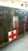 US Army Red Cross hospital car by OddGarfield