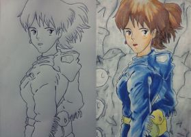 Nausicaa of the Valley of the Wind by CpointSpoint