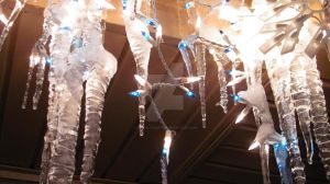 Icicle Lights by CorkyLittleWolf