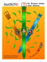 Rainforest Swatch Watch Poster by ladyriven