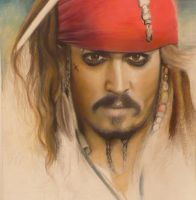 Jack Sparrow WIP by easilybroken123