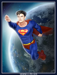 Superman by poserfan