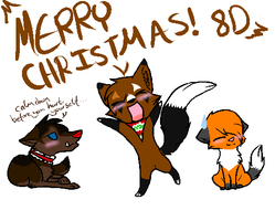 Merry Christmas! by InkSheWolf