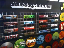 Messy: Face plates and clocks by messymedia
