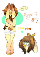 $7 ADOPTABLE: Abigail (OPEN) by crovvn