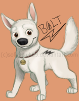 .:Fanart:Bolt:. by Patsuko