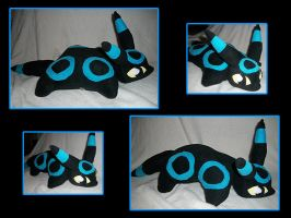 Shiny Umbreon Pillow Pet by VanguardWingal