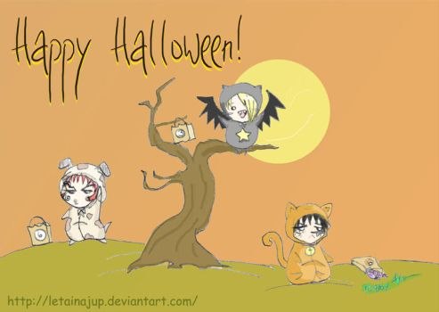 Bleach Happy Halloween 369 by letainajup