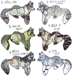$1.99 wolf adopts by Nightmare-Adventures