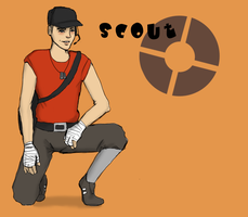 TF2 - Scout by Solitude6
