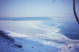 cold.  Baltic sea by Sangvinar