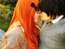 James/Lily - Kiss on the Nose by sparrowhawk51