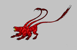 072 Displacer beast red color by krigg