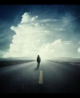 A Road That Continues to Sky by xkillz