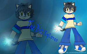 .:The Bit Xplorer Wallpaper::. by Neos-The-Hedgehog