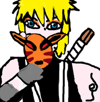 Naruto in ANBU gear:3 and mask XDD by Fran48