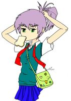Late Anime School Girl Dec2009 by Inlinverst