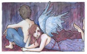sleeping with angels. by lauraspanner