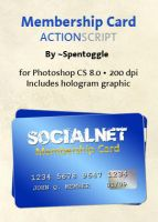 Membership Card ActionScript by spentoggle