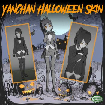 YanChan Halloween Skin 2016 by JimothyGreen12