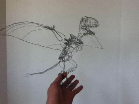 A Flying Reptile in the Hand... by Tenodera252