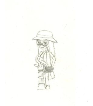 DBTC day 15: inkling doodle by TheElusiveDime