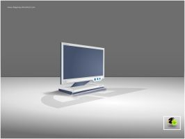 Monitor 3D  -2- by DragonXP