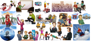 UNF Article Illustrations by MLeth