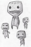 LittleBigPlanet: Sack Boy by adementedchief