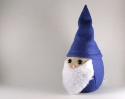 Blue Gnome Plushie by Saint-Angel