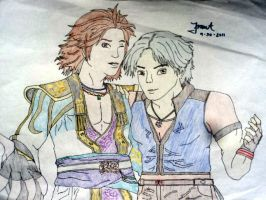 Sima Zhao and Lee Chaolan by Project-GenEx
