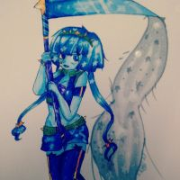 riping throw space:art trade: by sSflowerSs